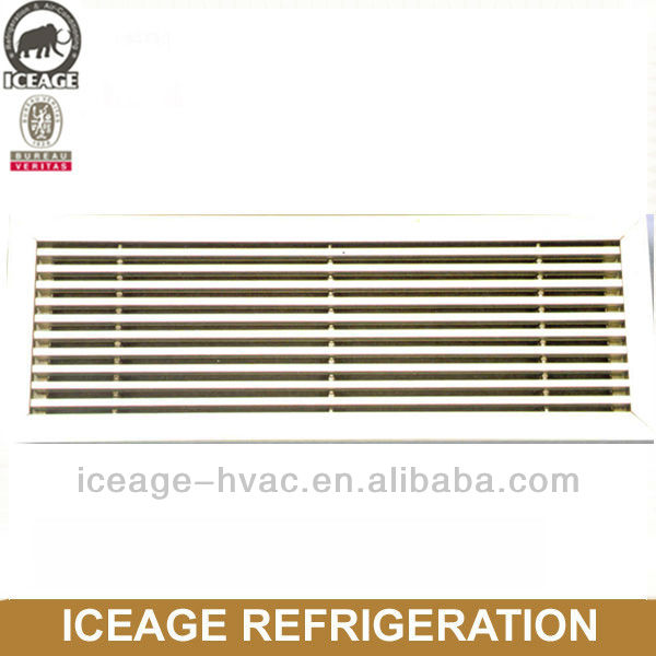 air conditioning linear grilles diffusers