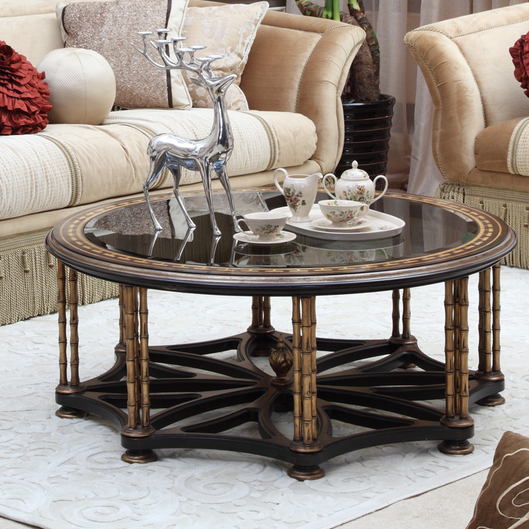 Living Room Furniture Black And Gold Centre Tableluxury Round Black And Gold Coffee Table Furniture Buy Gold Round Coffee Tableeuropean Round