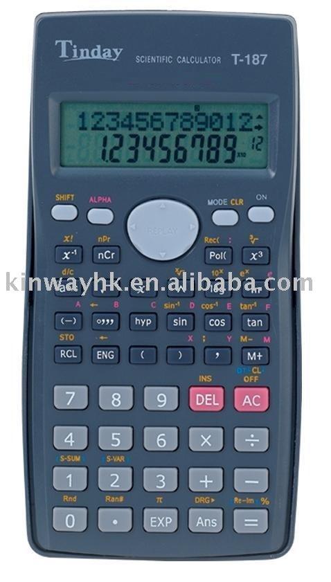 T-187 Student Scientific Calculator
