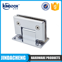 standard size stainless steel wall to glass shower hinge