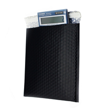 Custom black bubble plastic wrap mailer bags padded envelopes packaging envelopes