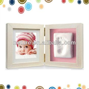 hotsale baby footprint frame baby clay frame kit buy footprint