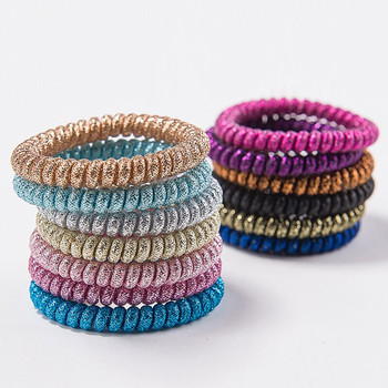 Special Colorful Hair Accessories Telephone Wire Hair Scrunchies For Women  Girls a943d304e9d