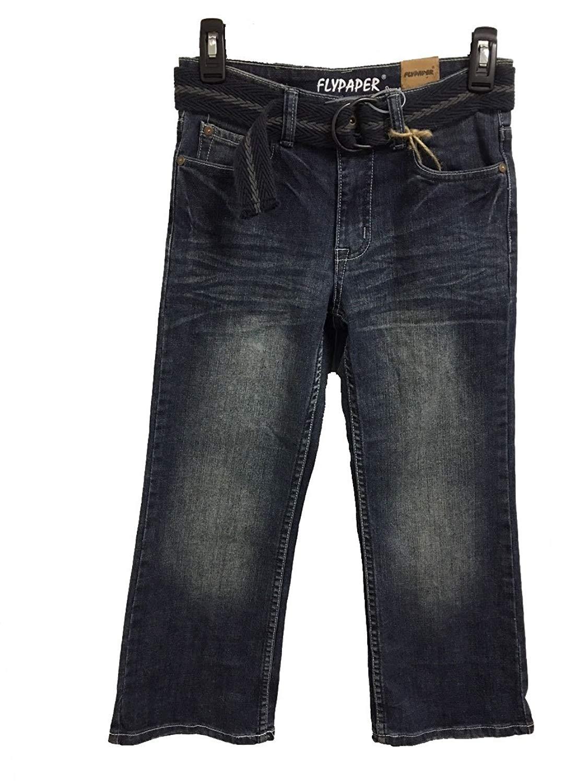 e2cf48237 Get Quotations · Flypaper Jeans Boys 8-20 Regular Boot Cut Jeans Dark Wash