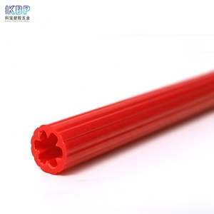 Custom Colored Abs Extrusion Tube Plastic Pipe