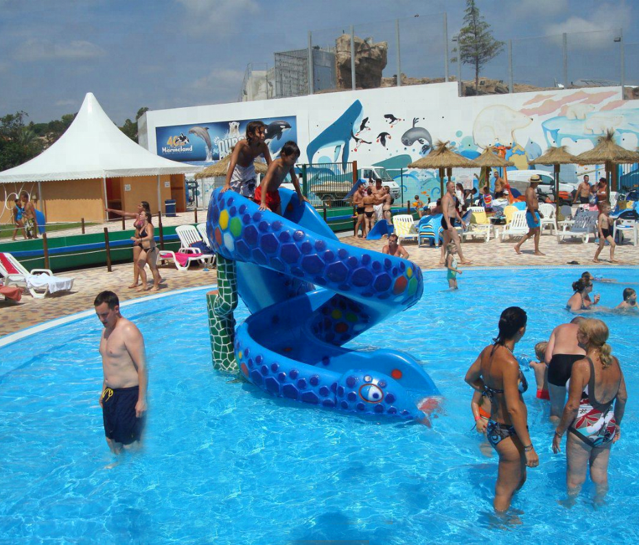 Kids Water Park Swimming Pool Small Fiberglass Snake Slide For Sale Buy Water Park Slide Kids Water Slide Kids Water Slide For Sale Product On Alibaba Com