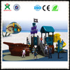 playground for hotel business fun activities for kids outside free standing slide QX-040A