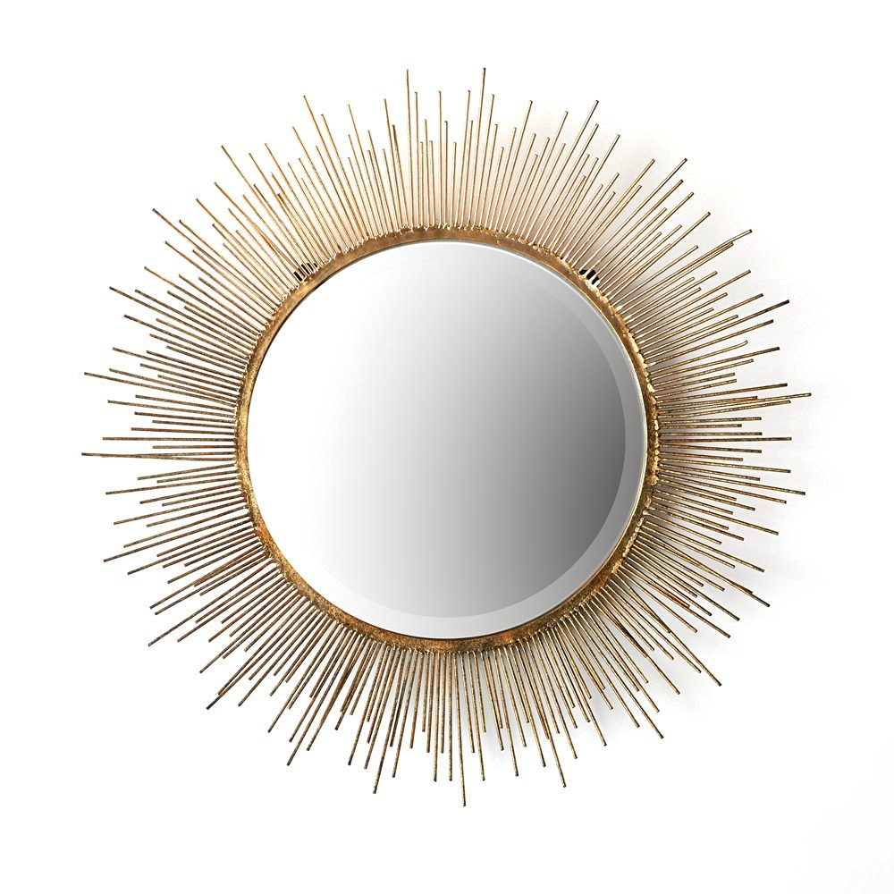 Two's Company Tozai Gold Starburst Wall Mirror