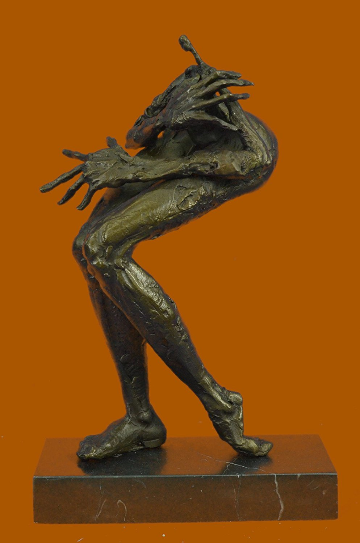 ...Handmade...European Bronze Sculpture Limited Edition Abstract Modern Art Female Monster (XNAB-125-UK) Bronze Sculpture Statues Figurine Nude Office & Home Décor Collectibles Sale Deal Gifts