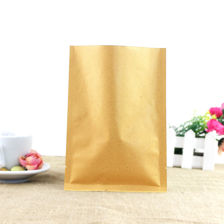 China Supplier 3 Side Seal Smell Proof Bag,Custom Printed Kraft Paper  Coffee Bags - Buy Brown Kraft Paper Bags,Kraft Paper Coffee Bags,Cheap  Kraft