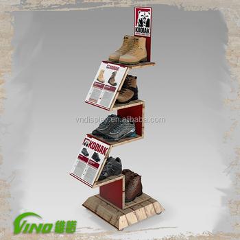 Retail Shoe Display Shelf Rack Creative Shoes E Saving