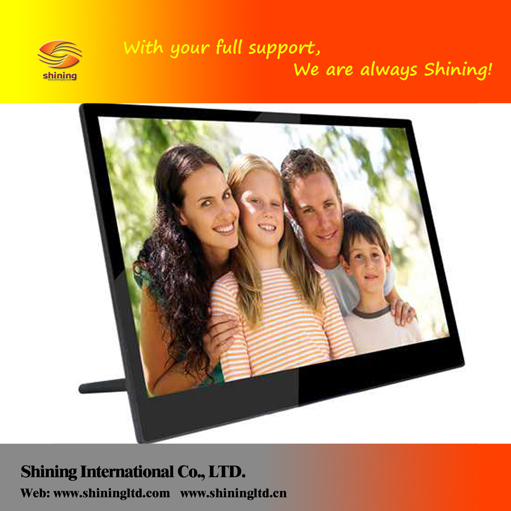 SH1401WF tft led digital photo frame com música e vídeo