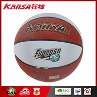 Kansa-8801 Olympic Standard Woman Match Use PU Leather In Size 6 Customized Basketball Ball