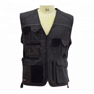 Professional High Quality 60% Cotton Breathable Workwear Vest
