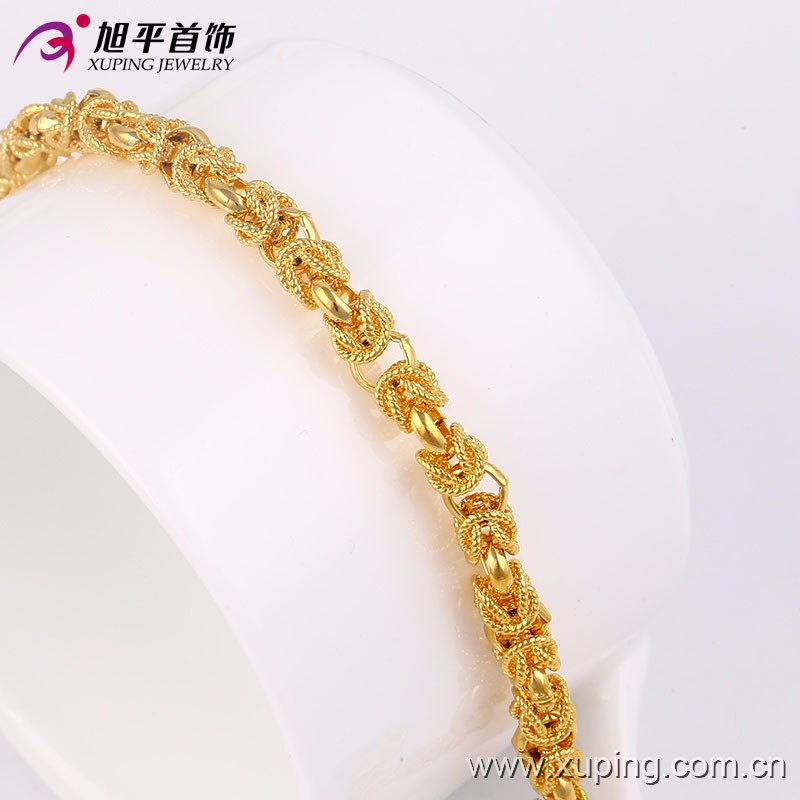 Fashion Jewelry Dragon Bracelet Design 24k Plated Chain