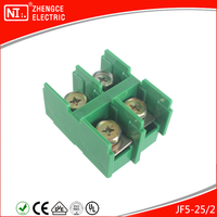 JF5 - 25 / 2P Self-lock Wire Connector Electric Terminal Block With 660V 100A