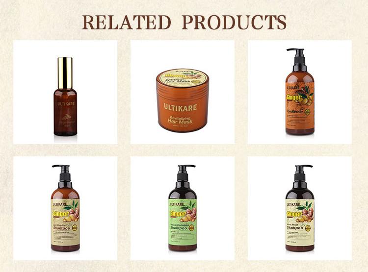 Best organic ginger bio keratin moisturizing hair conditioner for dry hair
