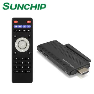 Factory fire tv stick best mini pc Quad Core 1+8G/16G WIFI BT4 0 RK3229  Android TV Dongle CX-939 Pro SUNCHIP