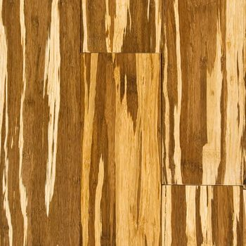 Kanger Tiger Grainy Strand Woven Bamboo Floor For An Approved By Bq