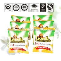 small bag wholesale chemical ingredient washing powder making formula