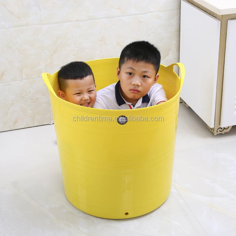 Cubo Baño Bebe   Nino Banera Con Asiento Bano Del Bebe Cubo Grande Del Bano Del