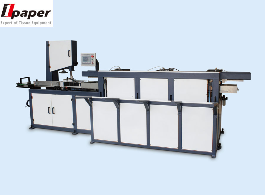 Hot sale automatic Paper roll cutting machine/bandsaw cutting machine for toilet paper