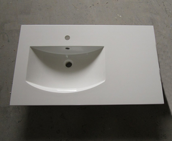 Solid Surface Wastafel : Populaire ontwerp onder counter wastafel corian acryl solid