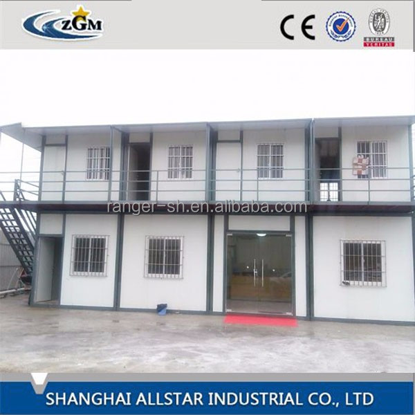 Coffee shop counter design steel building container house