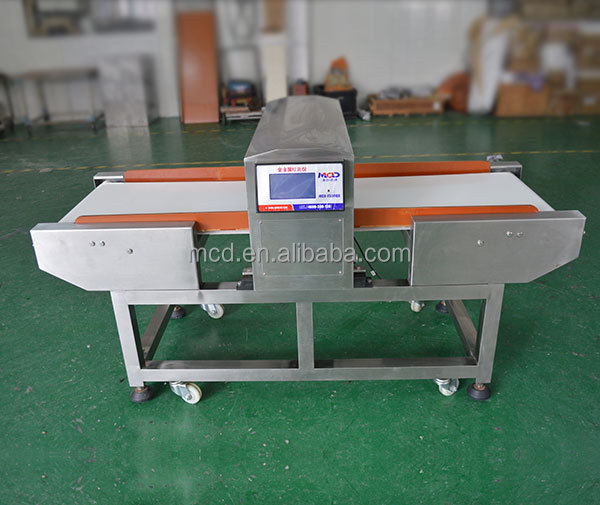 MCD-F500QD Full Color touch food metal detector / conveyor belt needle detector