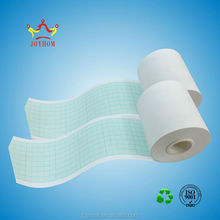 Customized high quality electrocardiogram thermal ecg paper rolls 50mm*20m