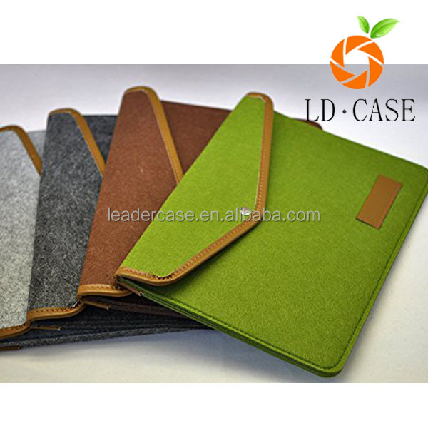 wool felt tablet case universal for ipad/samsung/kindle/other brand tablet case
