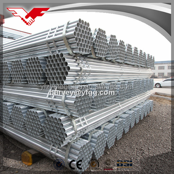 china youfa tianjin galvanized iron pipe specification