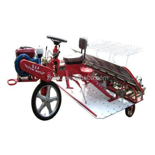 5 HP 6 rows farm rice planting machine