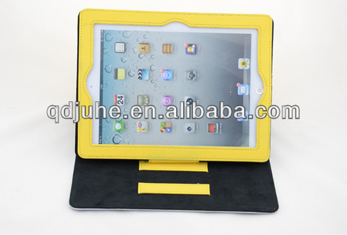new design 3D noctilucent sublimation leather case for ipad2/3 cover