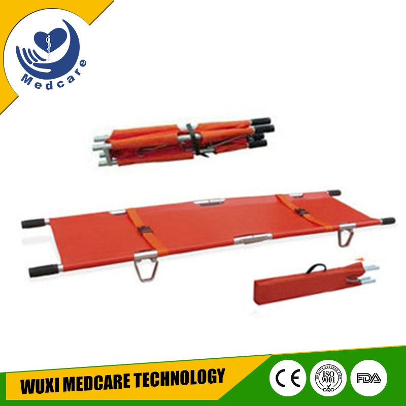 MT-F2 aluminum first-aid emergency rescue 2 folding stretcher