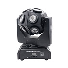 360 degree rotating moving head goodwill wash light good price in india 12 Pcs 10w 4in1 lighting