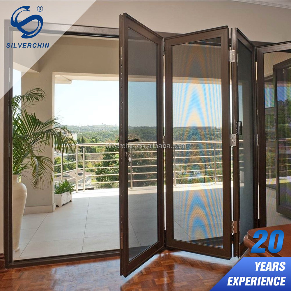 100 t group windows and doors slide and fold doors frameles