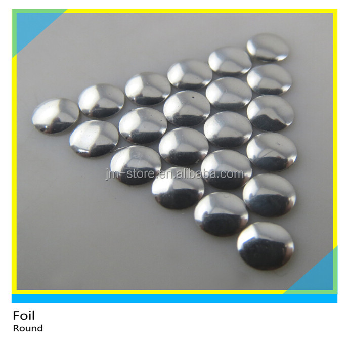 Hot Sale All Kinds of Flat Back SS6 Round Nailheads to Decorate Different Clothing
