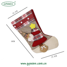 Latest design custom popular christmas stockings sale