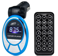 Car MP3 Player with TF Card Reader (Blue) car stereo cassette mp3 player with usb