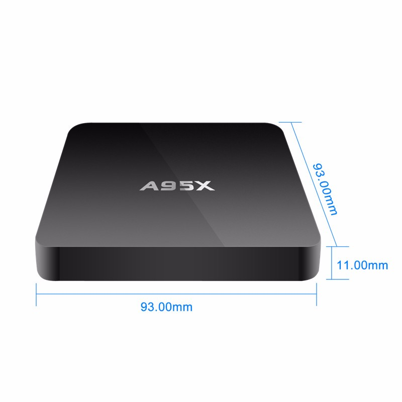 4k tv box A95X play store app amlogic S905X 4k android tv box A95X