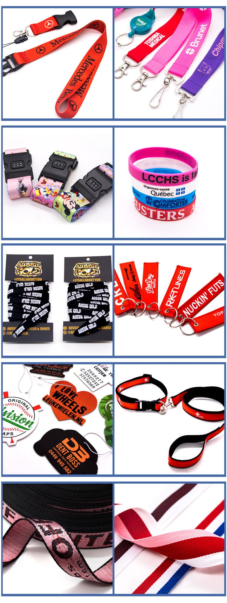 Retractable Tool Custom Lanyard With Plastic Id Card Badge Holder Clip
