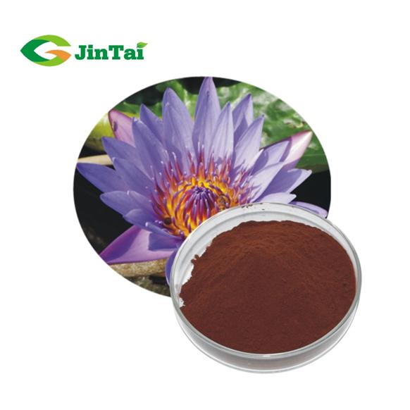Blauwe lotusbloem extract/nymphaea caerulea