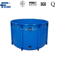 round Collapsible pvc fish tank pond for fish farm