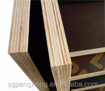 12mm 15mm 18mm Black film faced plywood / phenolic board