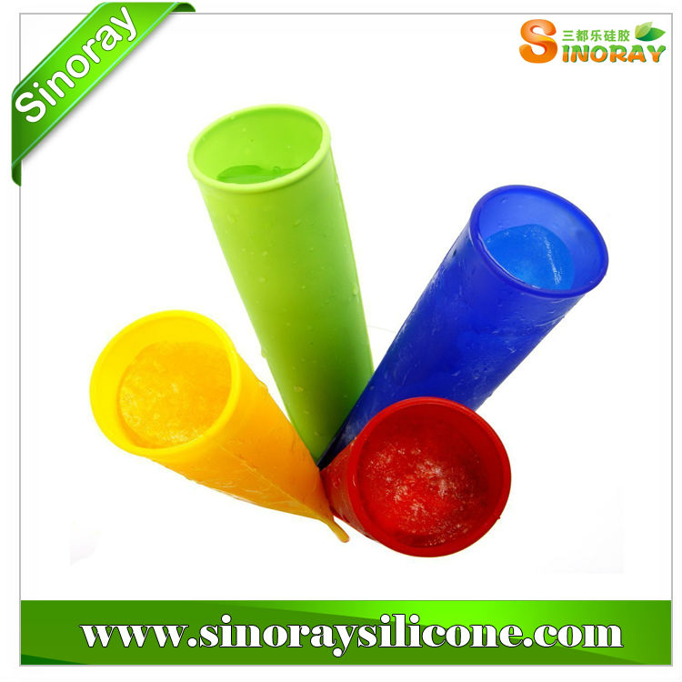 Silicone Ice Pop Maker BPA free Push-up Design