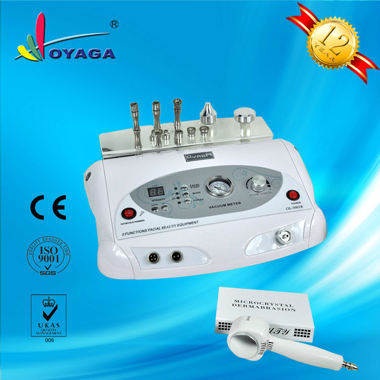 Professional 3 in 1 dead skin removal improving scar diamond dermabrasion machine