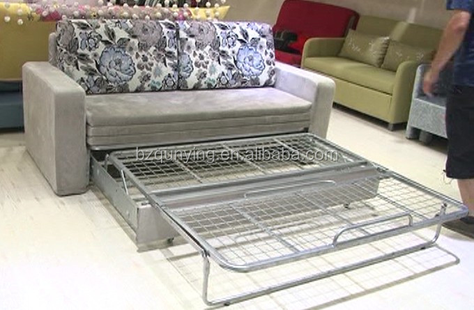 Enlarged Folding Futon Bed Frame With Removable Cover View Qunying Product Details From Bazhou Stamping Factory On Alibaba Com