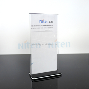 Acrylic Plastic Memo Flyer Holder Display Stand