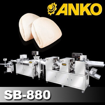Anko Peanut Powder Gua Bao Chinese Hamburger Machine
